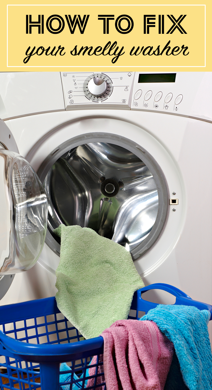 Front loading washing machines are notorious for their mildew smell