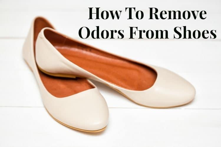 remove shoe odor