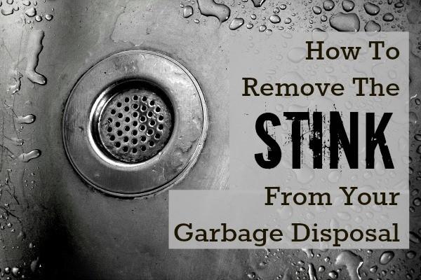 stinky garbage disposal