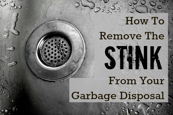 Smelly Garbage Disposal Problem Can Be Fixed