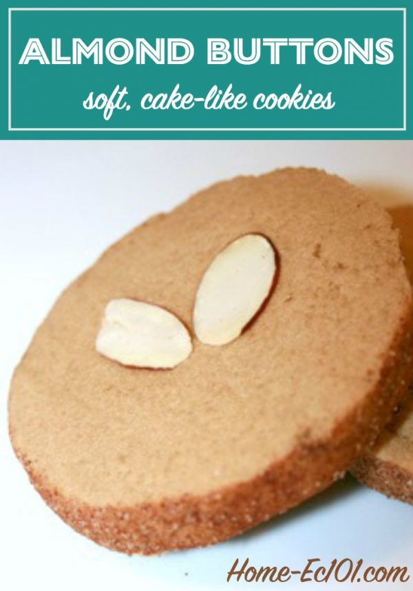 These almond butter cookies are simple and nicely complement a cup of coffee as an afternoon or after dinner treat.