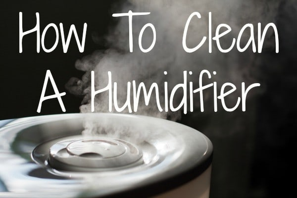 humidifier cleaning