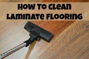 how to clean laminate flooring