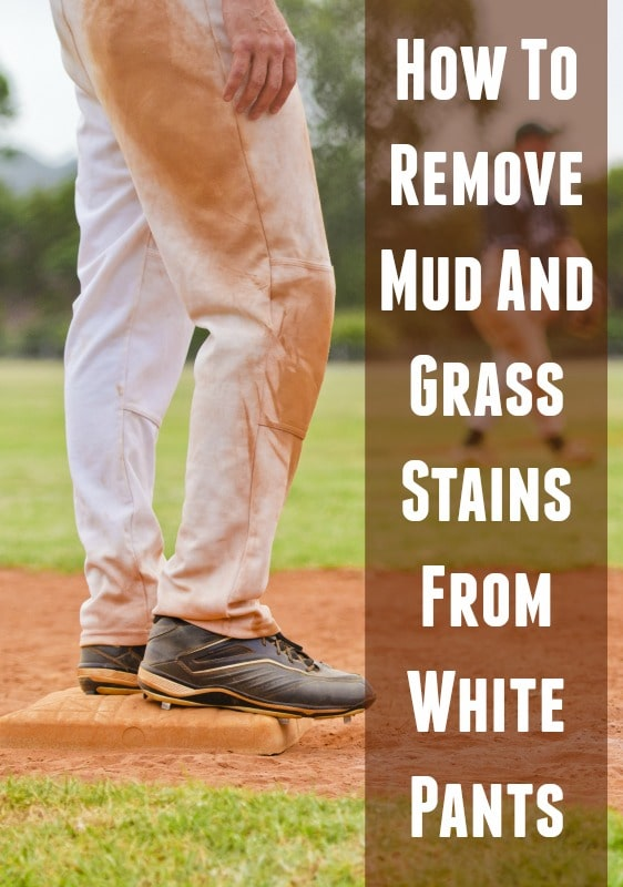 how to remove mud and grass stains