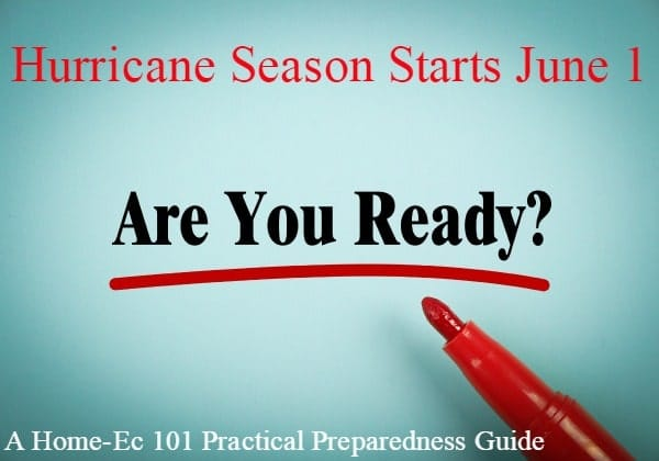 It's Time Again for Hurricane 101