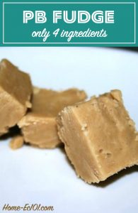 "Have you ever come across a recipe that makes you say, ""Why have I never made this before?"" This 4 ingredient peanut butter fudge recipe is hard to beat."