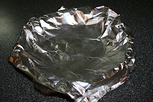 Double layer of foil