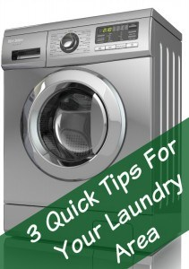 tips for laundry room
