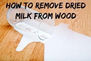 clean dried milk
