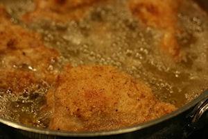 frying chicken 2
