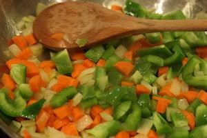 softening vegetables