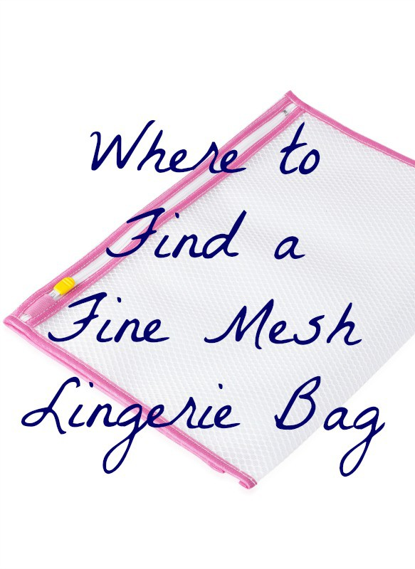 where to find a fine mesh lingerie bag