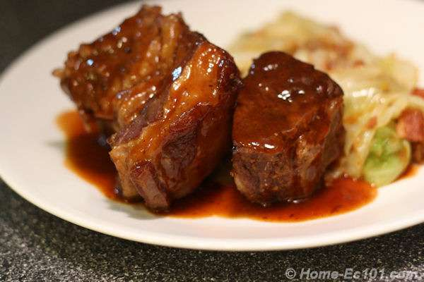 Beer Braised Short Ribs