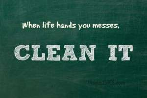 Clean Up with Home Ec 101