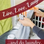 information about washing things