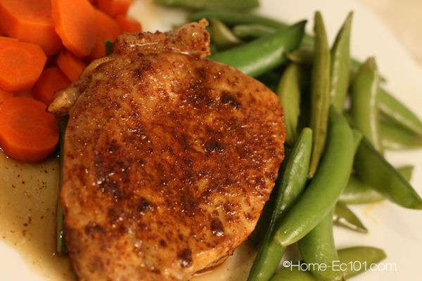 Easy Chili Maple Pork Chops