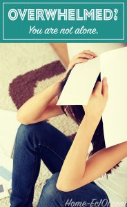 Overwhelmed? You are not alone