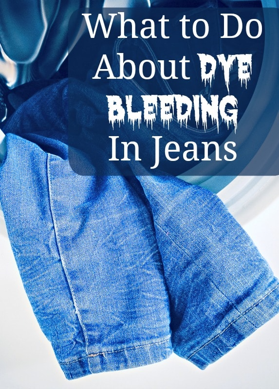 what to do about dye bleeding