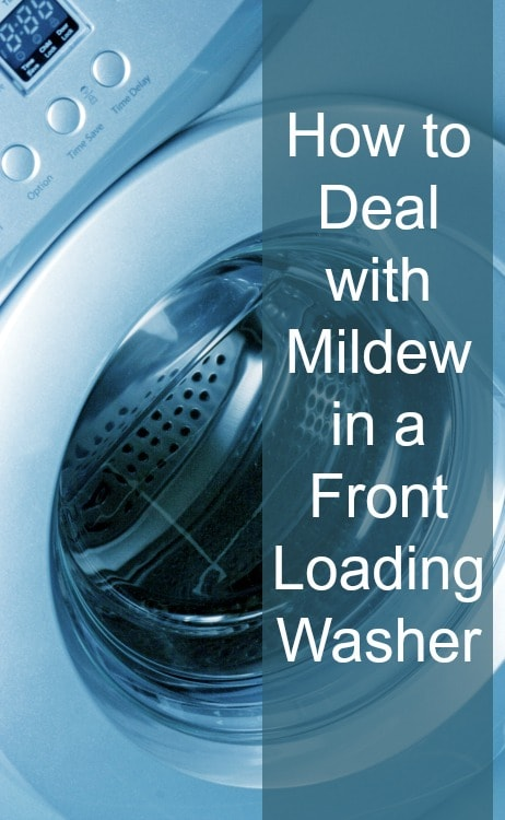 get rid of mildew in washer