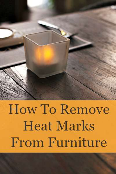 remove heat marks from furniture