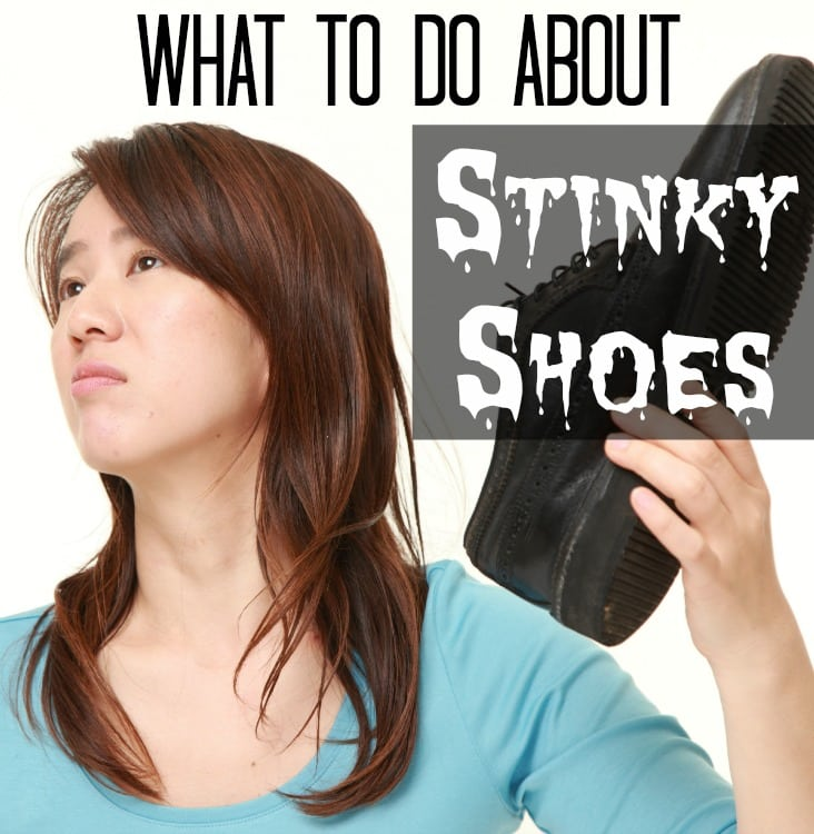 what to do about stinky shoes