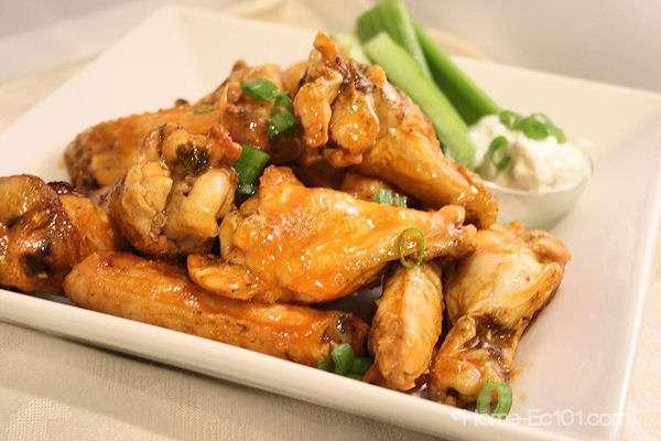 Easy Grilled Buffalo Wings