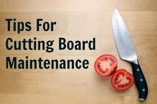 cutting board maintenance