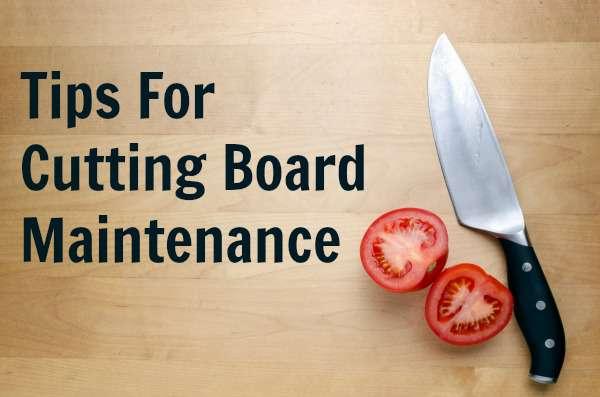 Cutting Board Basics