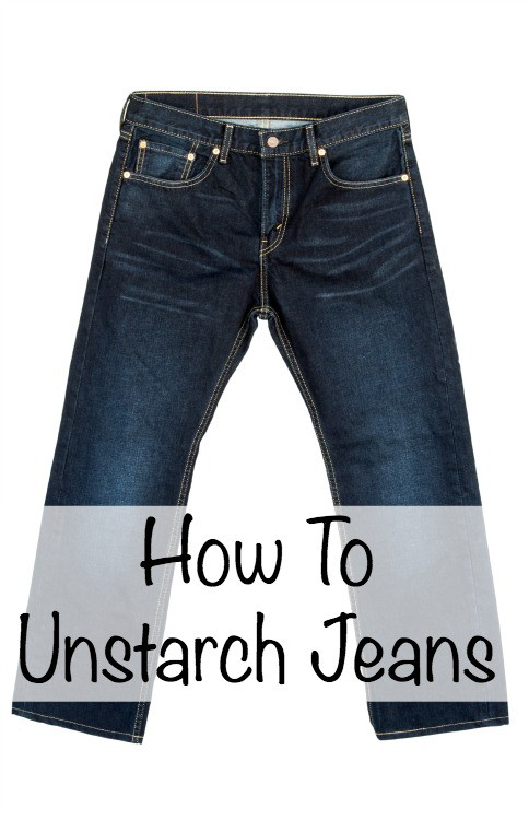 how to get starch out