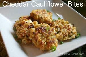 How To Make Cheddar Cauliflower Bites
