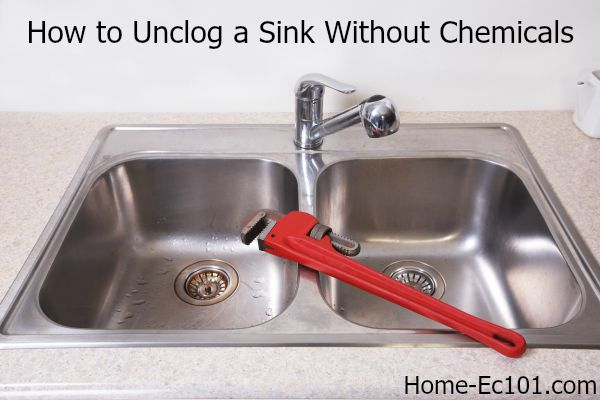 How to Unclog a Kitchen Sink, Naturally