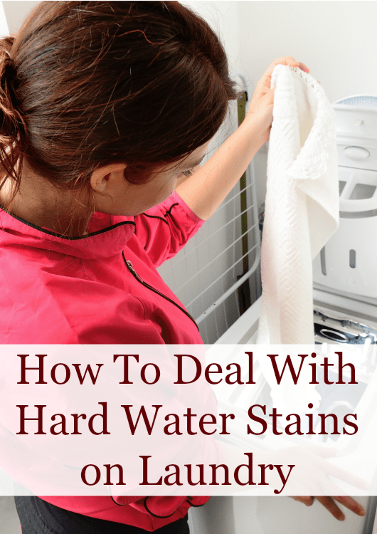 how to handle hard water stains