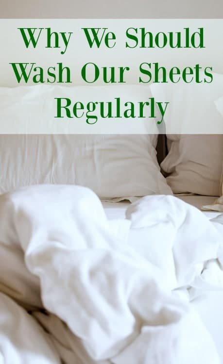 why you should wash sheets