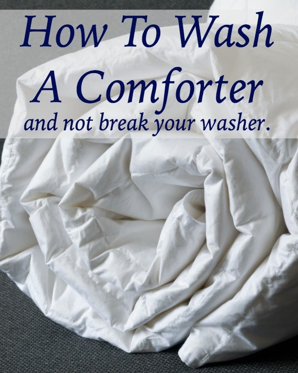 How to Wash Comforters   Home Ec 101