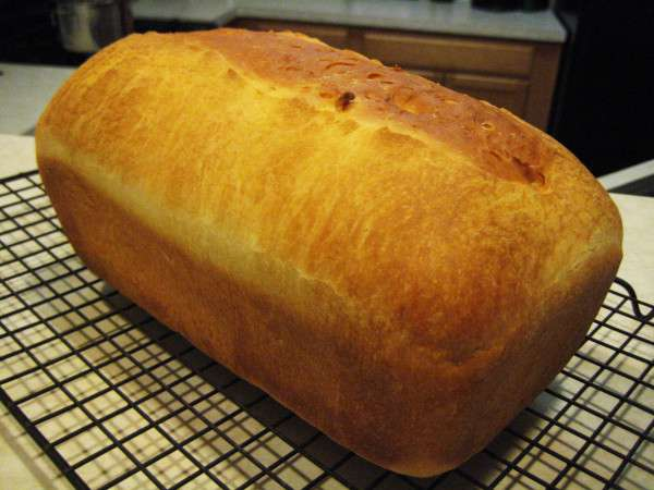 Step 9 - baked bread