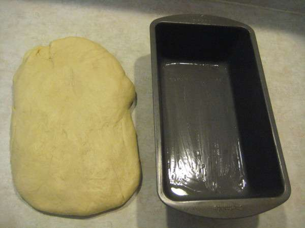 Step 8 - stretch out the dough