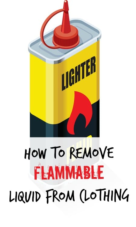 how to remove lighter fluid