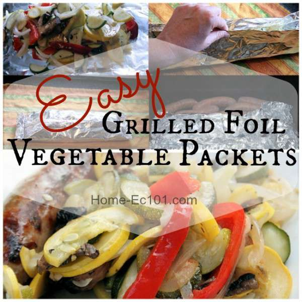 Easy Grilled Foil Vegetable Packets