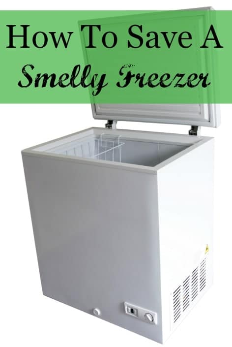 how to save a smelly freezer