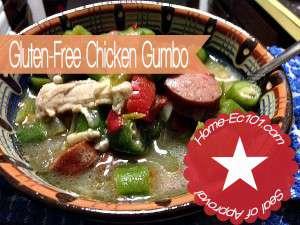 Easily Make Gluten-FrAee Chicken Gumbo
