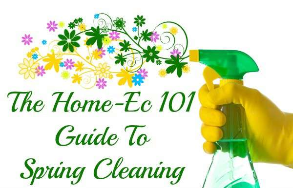 guide to spring cleaning