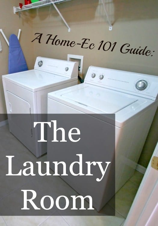 guide to the laundry room