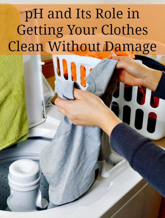 ph and how it cleans clothes