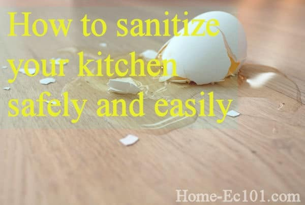 A Guide to Kitchen Disinfection