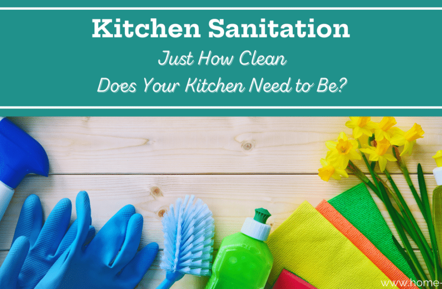A Guide to Kitchen Disinfection and Sanitation