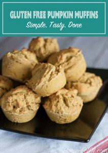 How to make easy gluten free muffins adaptable for other muffin recipes.
