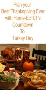 prepare for thanksgiving