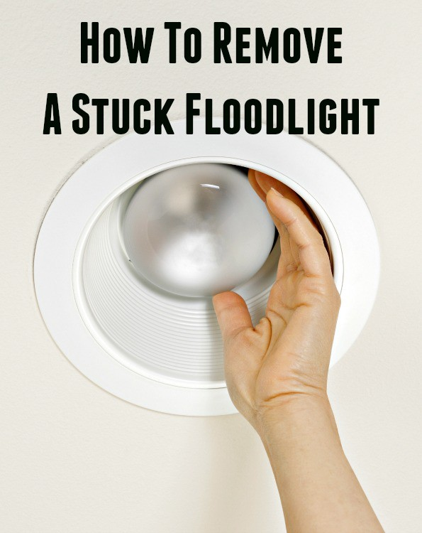 How to Remove a Stuck Outdoor Flood Light
