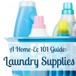 laundry supplies guide