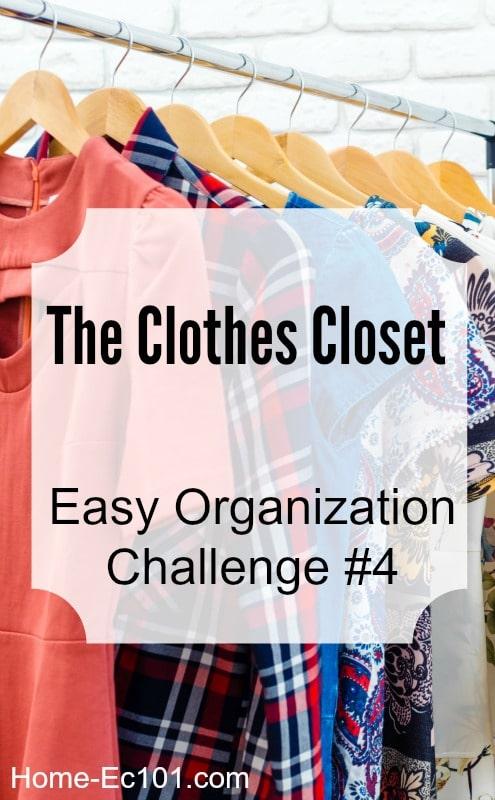 organize clothes closet